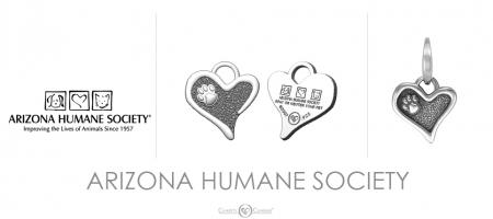 Arizona Humane Society Charm