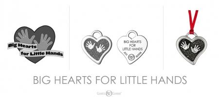 Big Hearts Little Hands Charm