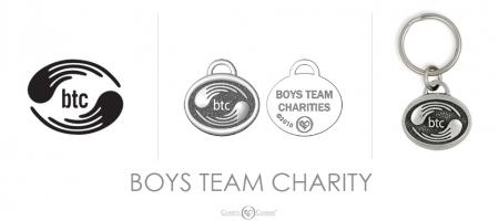 Boys Team Charity Charm