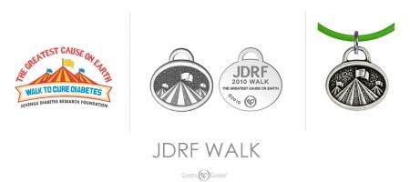 JDRF Walk Charm
