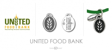 United Food Bank Charm