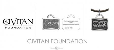 Civitan Foundation Charm