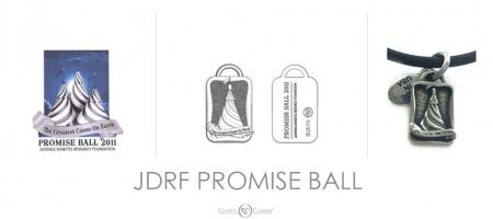 JDRF Promise Ball Charm