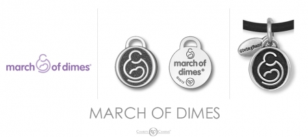 March of Dimes Charm
