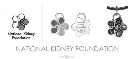 National Kidney Foundation Charm