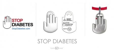 Stop Diabetes Charm