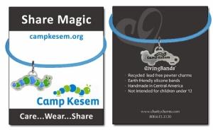camp kesem givingband