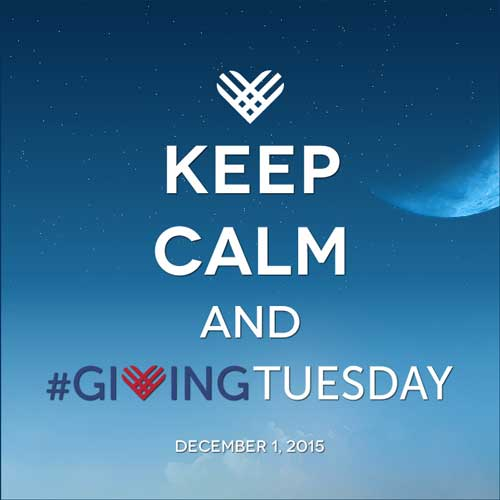 Giving Tuesday–Only 6 Months Away! Start Planning Now!