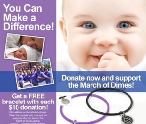 charming campaign march of dimes