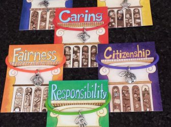 Character Counts:  Symbol charm bracelets reinforce learning