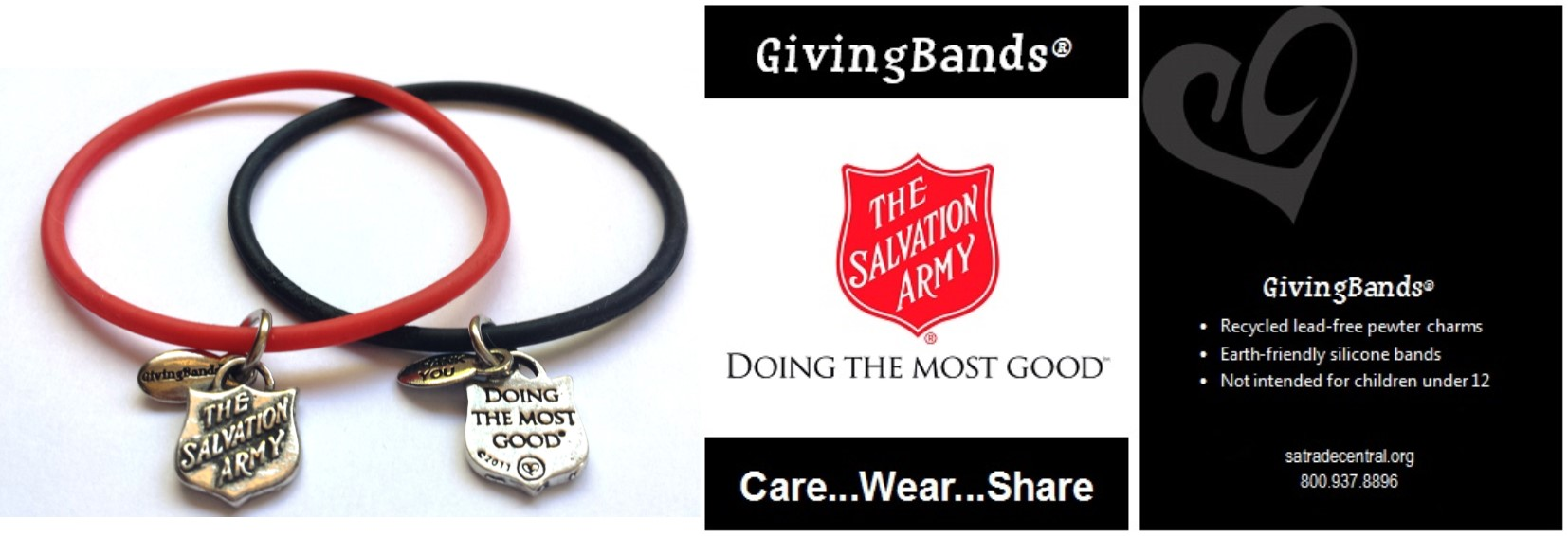 Salvation Army GivingBand and Carding