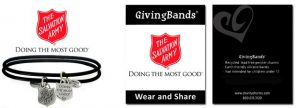charity campaigns The Salvation Army GivingBands with Carding