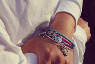CVH GivingBands and BangleDangle charity charm bracelets