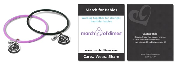 March of Dimes GivingBands and Carding