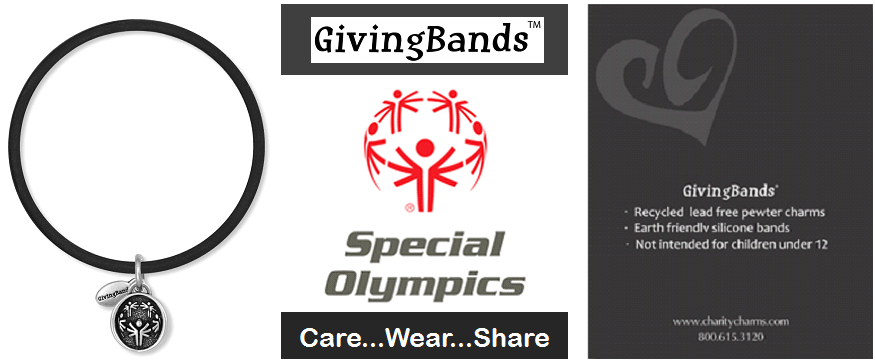 Special Olympics GivingBand & Carding - Charity Charms