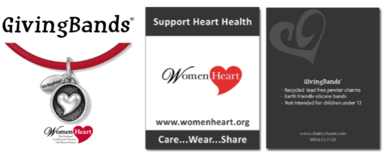 WomenHeart GivingBands and Carding