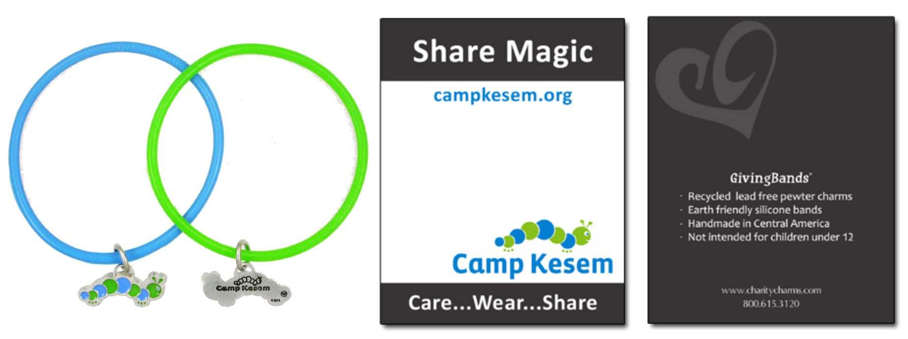 Camp Kesem GivingBand and Carding