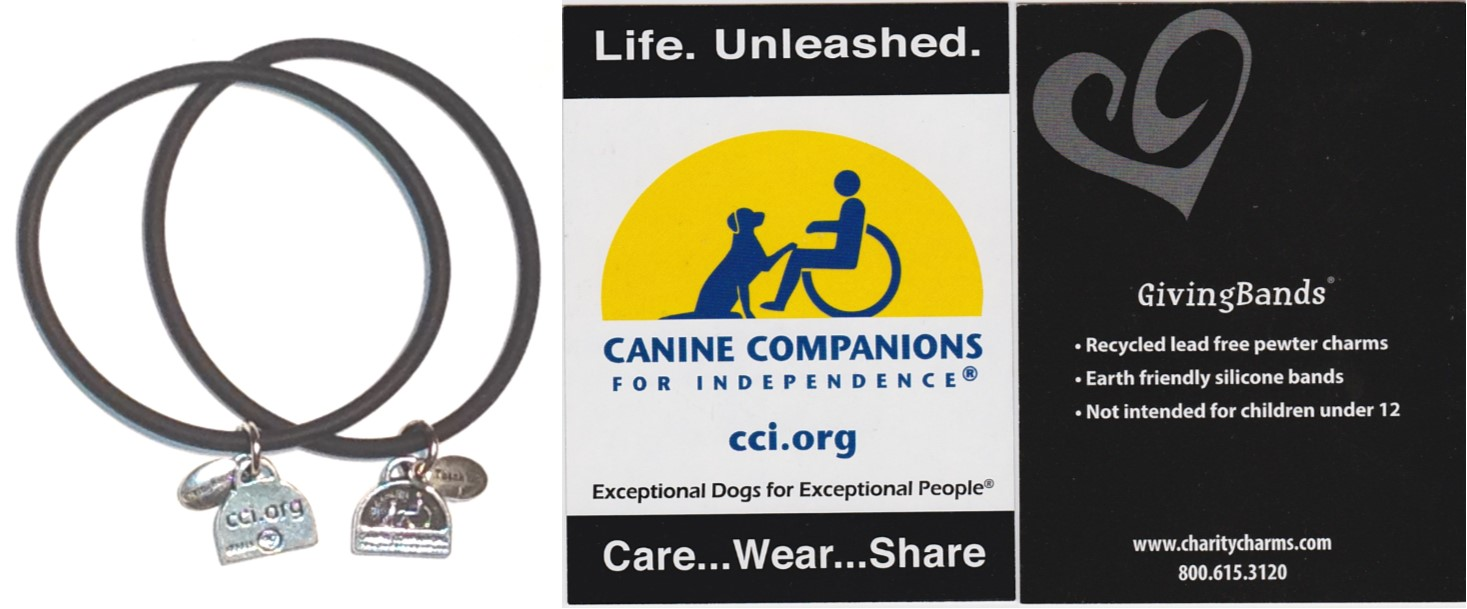 Canine Companions GivingBands and Carding