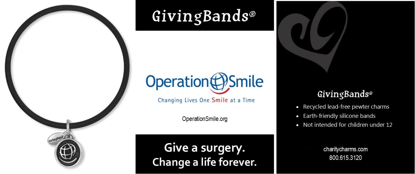 Operation Smile GivingBands and Carding