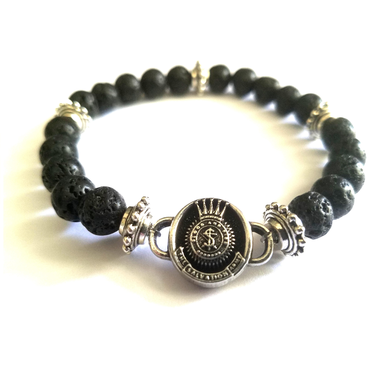SA Crest Lava Bracelet
