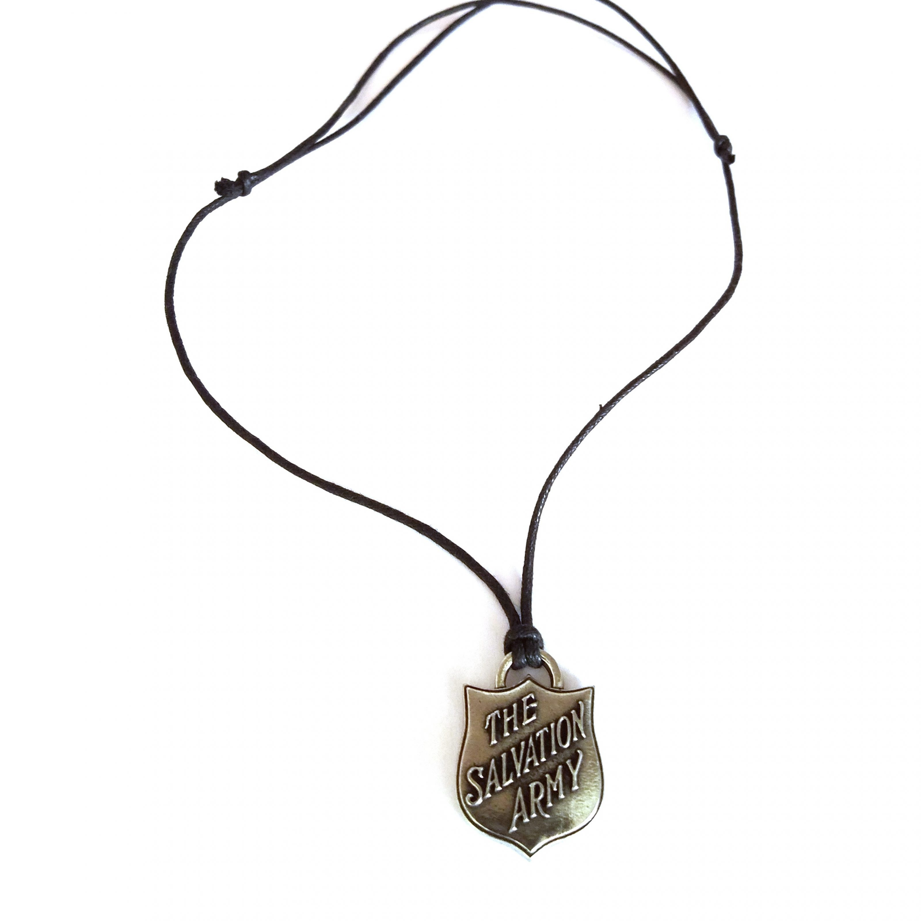 SA Shield Charm Necklace