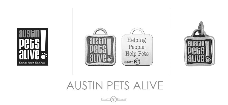 Austin Pets Alive logo charms