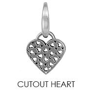 CutOut Heart Charm