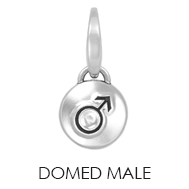 Domed Male Charm