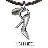 High Heel Charm