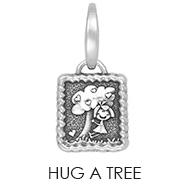 Hug a Tree Charm