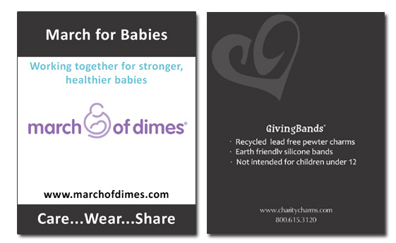 March of Dimes Card
