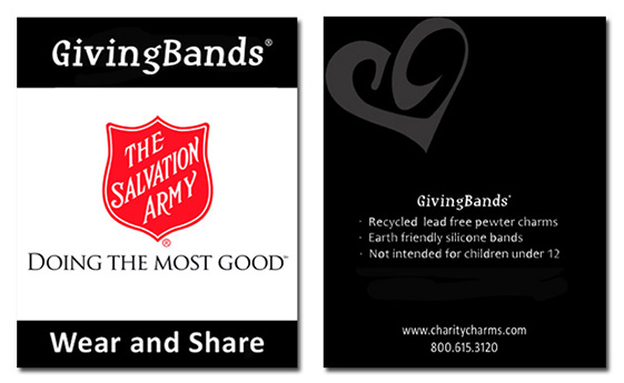 Salvation Army Card
