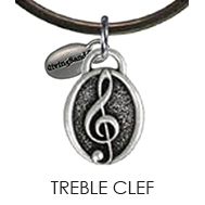 Treble Clef Charm