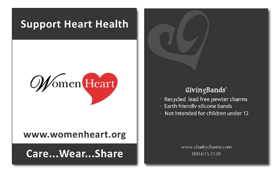 Women Heart Card