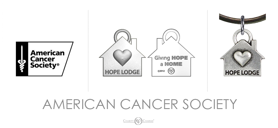 American Cancer Society Charm