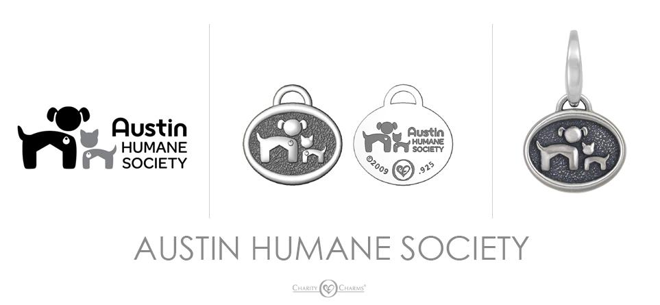 Austin Humane Society Charm
