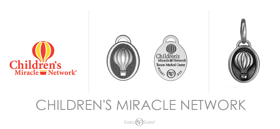 Childrens Miracle Network logo charms