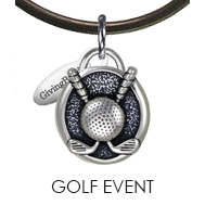 Golf Event Charm