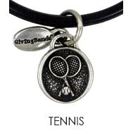Tennis Charm
