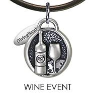 Wine Event Charm