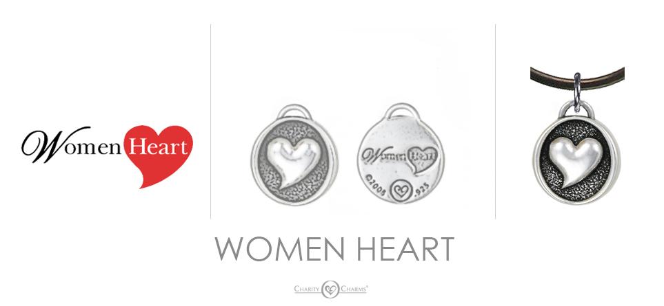Women Heart Charm