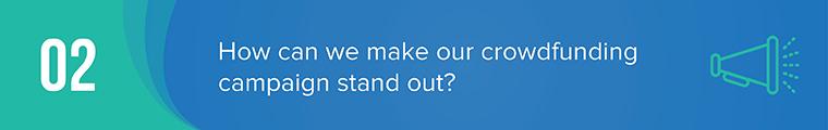 crowdfunding basics question 2
