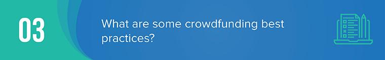crowdfunding basics question 3