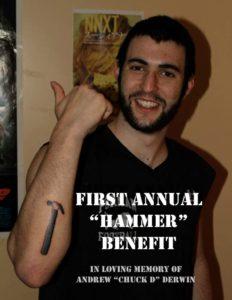 andrew derwin custom memorial bracelet card