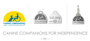 custom logo charms canine companions for independence