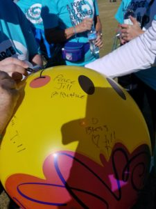 lung force phoenix walk memorial balloon