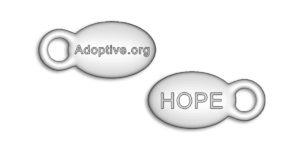 adoptive custom bracelet hope charm
