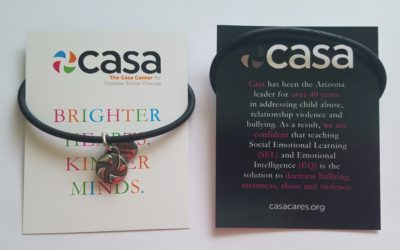 Casa Uses GivingBands to Brand Brighter Hearts. Kinder Minds. Soiree