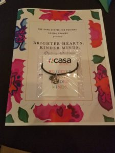 casa givingband packaging and brochure