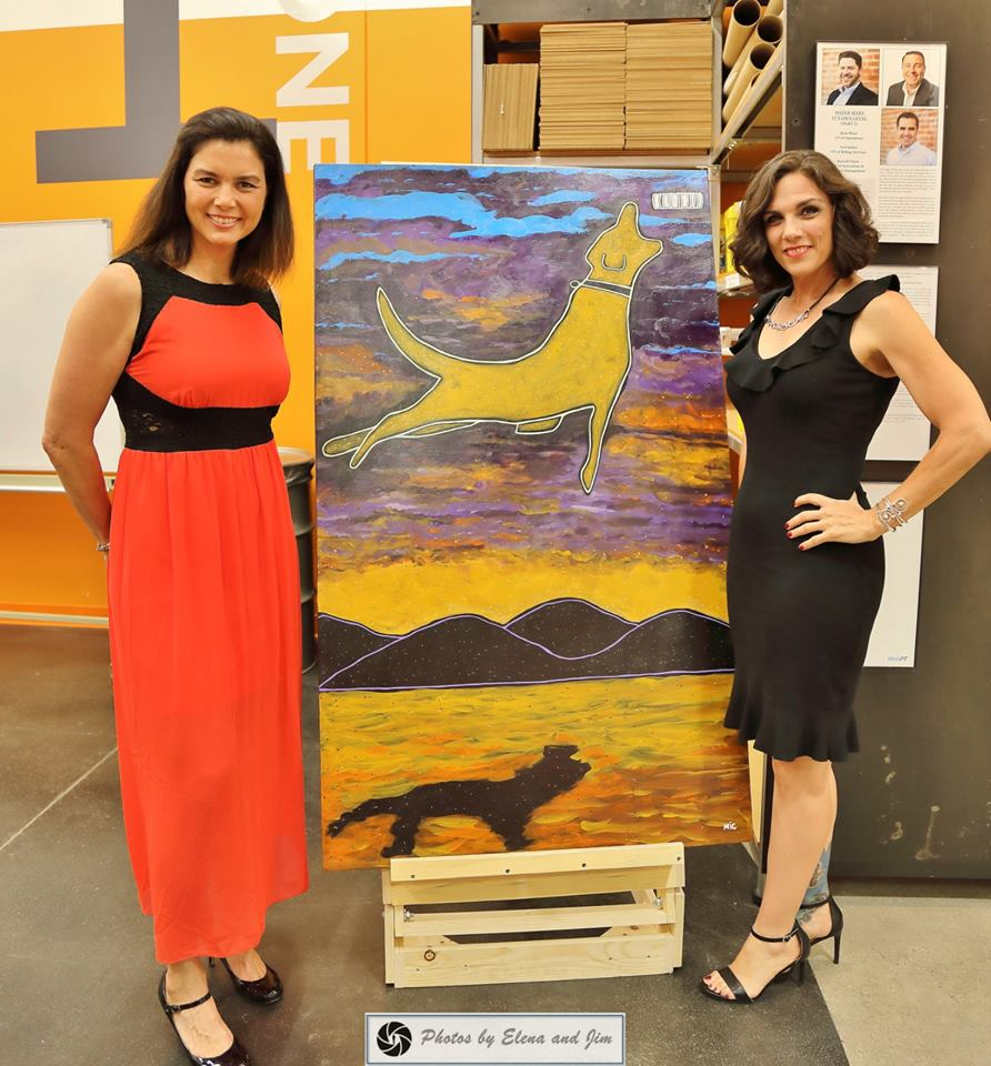 art of fearlessly giving back heidi and michelle